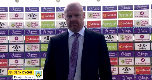 Sean Dyche admits he 'had to laugh' at Leeds United transfers comment