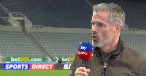 Jamie Carragher dismisses Leeds United relegation concerns