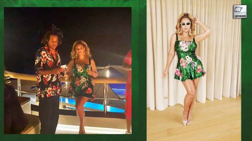 Beyonce Amuse fans With Stunning Looks In Shimmering Mini Dress