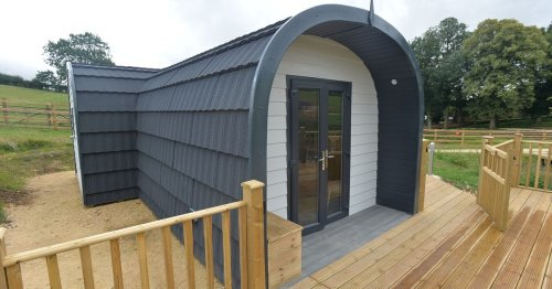 Luxurious new glamping site opening in countryside