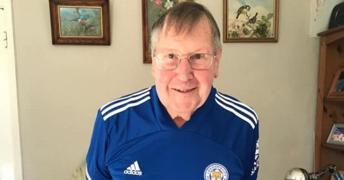 Leicester City fan, 90, hopes to break 'jinx' on FA Cup final