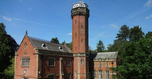 Victorian pumping station overlooking Bradgate Park up for sale