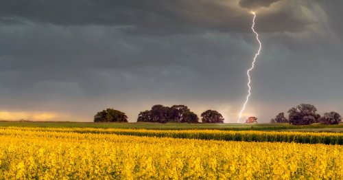 Weather warning issued as thunderstorms set for a return