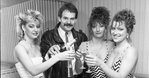 What a new nightclub looked like in the 1980s