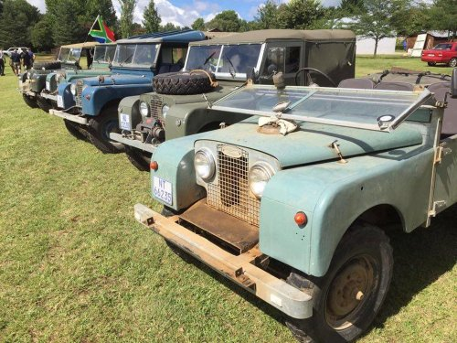 Holgate's Historic Land Rover Expedition - Leisure Wheels