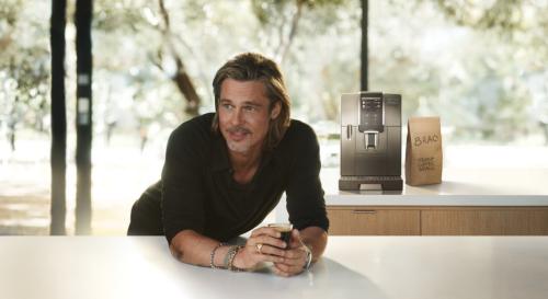 Brad Pitt nouvelle égérie de la marque De'longhi