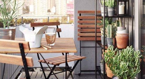Petit balcon : 9 solutions pour optimiser l'espace
