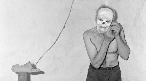 The Earth Will Come to Laugh and Feast - Photographs by Roger Ballen | Book review by Gregory Eddi Jones | LensCulture