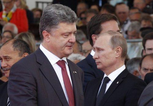 Порошенко раскрыл Путину детали своего мирного плана