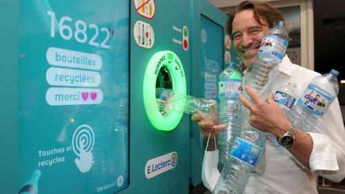 Recyclage : les B:bots, ces machines qui récupèrent vos bouteilles en plastique contre un bon d'achat