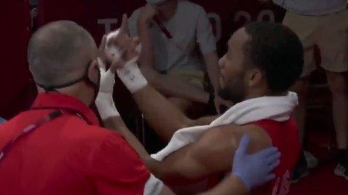 JO de Tokyo : le boxeur américain Ragan fête sa victoire avec des doigts d'honneur à l'encontre du Français Kistohurry