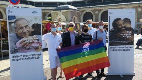 Versailles : « Dans la ville il y a beaucoup d'agressions envers les homosexuels »... Les LGBT+ font de la pédagogie sur le marché