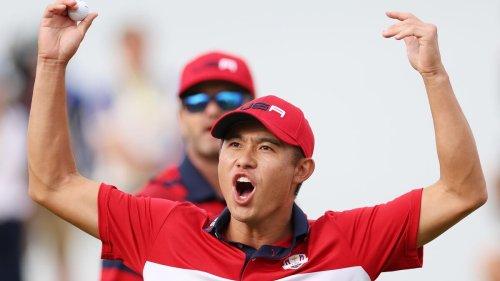 Golf : les Etats-Unis surclassent l'Europe et reprennent la Ryder Cup