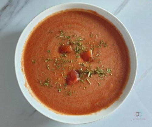 GAZPACHO ou GASPACHO - Les Délices de Choco soupe vegan