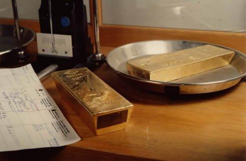 L'once d'or rebondit dans l'après-midi