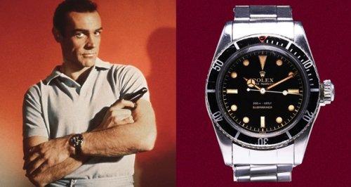 Rien que pour vos yeux, les montres de James Bond