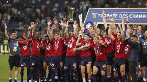 Lille remporte son premier Trophée des Champions en battant le PSG