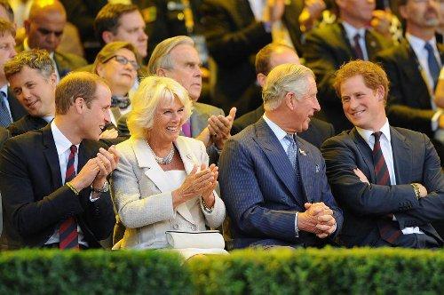 Harry coupé au montage dans une photo publiée pour l'anniversaire de William
