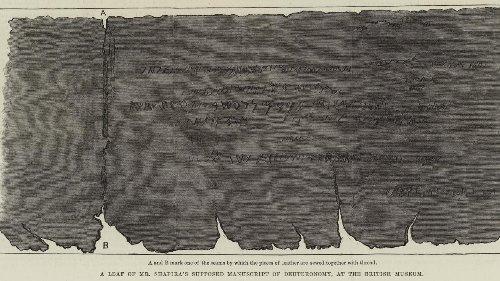 Archéologie: et si les manuscrits de Moïse Shapira étaient authentiques?