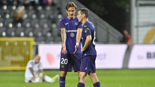 Accroché à Eupen, Anderlecht n'a pas rassuré