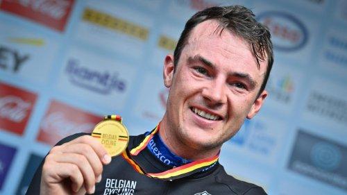 Cyclisme: Yves Lampaert emporté par la foule