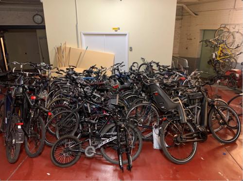 La police met la main sur 56 vélos volés à Molenbeek-Saint-Jean