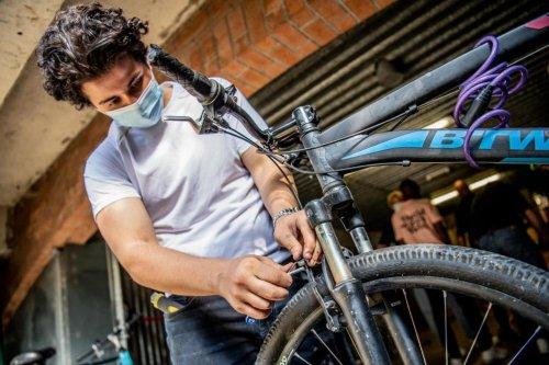 Semaine de la mobilité: des pros du vélo sur les bancs de l'école