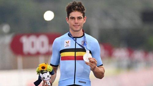 Wout van Aert, médaillé d'argent aux Jeux de Tokyo: «J'avais les jambes pour gagner, j'ai donné le maximum»