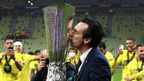 «Le secret, c'est le travail», savoure Unai Emery, quadruple lauréat de l'Europa League après son succès avec Villarreal
