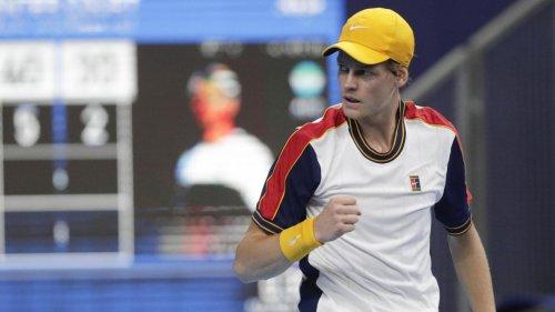 Jannik Sinner domine avec brio Diego Schwartzman et s'impose à Anvers sans perdre un set