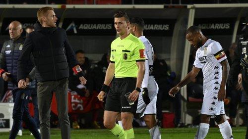 Seraing – SC Charleroi interrompu dix minutes après des jets de projectiles des supporters des Métallos