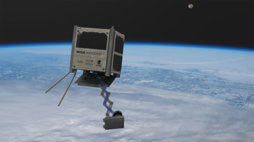 Un satellite en bois va être envoyé dans l'espace - Geeko