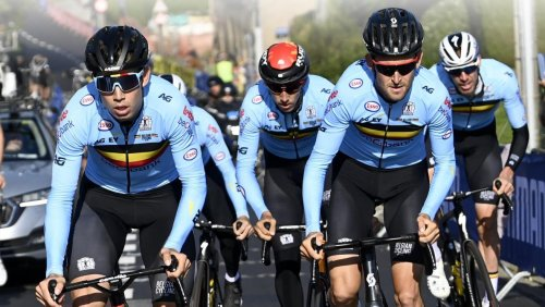 Mondiaux de cyclisme: Van Aert et les Belges seuls contre tous