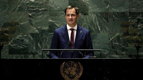 Alexander De Croo à l'ONU: «La solidarité vaccinale est cruciale pour vaincre la pandémie»