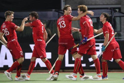 Les Red Lions fêtent dignement leurs retrouvailles avec leur public — Hockeybelgium