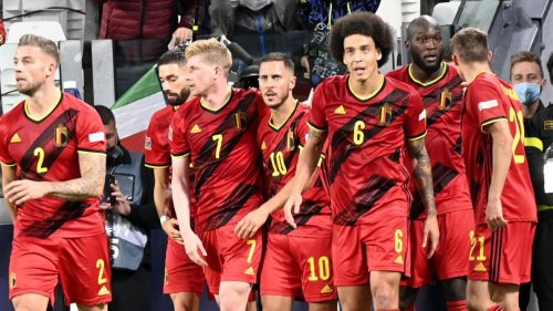 Les Diables rouges toujours en tête du classement Fifa malgré leur échec en Nations League