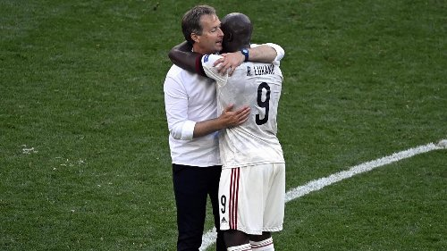 Romelu Lukaku dans les bras de l'entraîneur du Danemark: «Je leur suis éternellement reconnaissant»