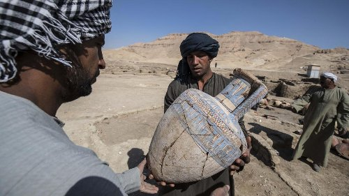 Archéologie: la «cité perdue» retrouvée en Egypte était connue depuis les années 30