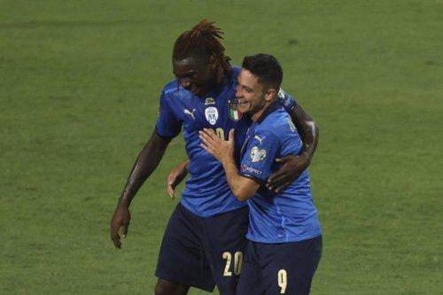 Qualifications pour le Mondial 2022: Kean brille et l'Italie étrille la Lituanie (5-0)