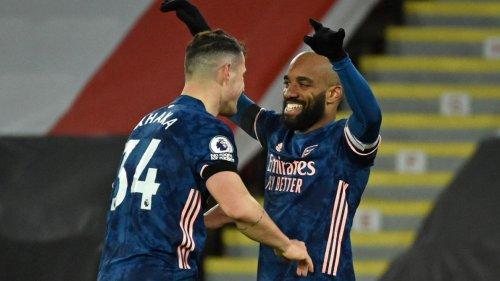 Arsenal déroule à Sheffield United grâce à un doublé de Lacazette (vidéos)
