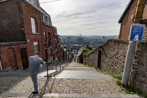 La Montagne de Bueren en colère, à Liège: elle craint la fin de sa sérénité