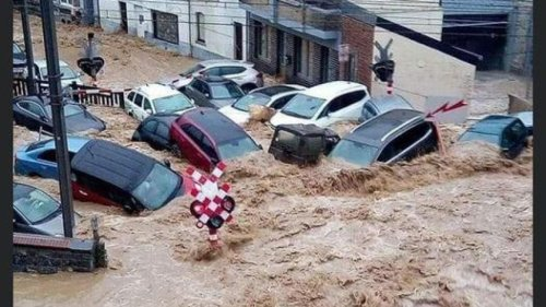 Intempéries: les premières images des dégâts suites aux précipitations à Dinant (photos vidéos)