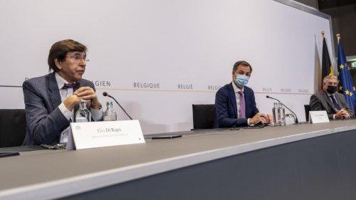 Comité de concertation: le port du masque et le CST généralisé sur tout le territoire