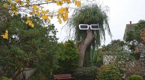 Un arbre déguisé en Michel Polnareff a été vandalisé (photo)