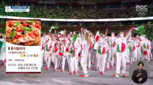 Le gros dérapage d'une chaîne de tv sud-coréenne durant la cérémonie d'ouverture des Jeux Olympiques