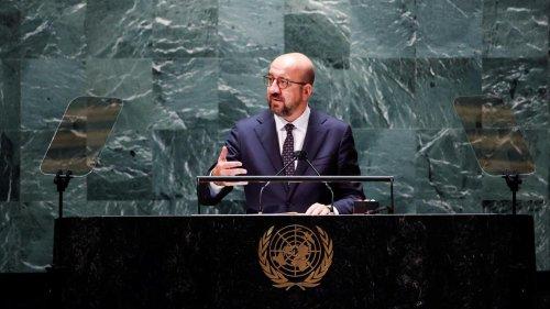Assemblée générale de l'ONU: Charles Michel appelle à mettre fin à la guerre menée par l'espèce humaine à la nature