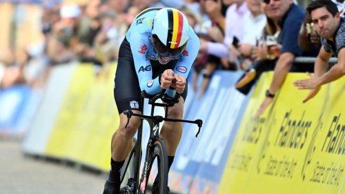 Mondiaux de cyclisme: le Belge Alec Segaert en bronze sur le chrono juniors