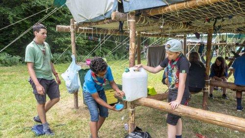 Les camps organisés sous tente en province de Namur doivent évacuer