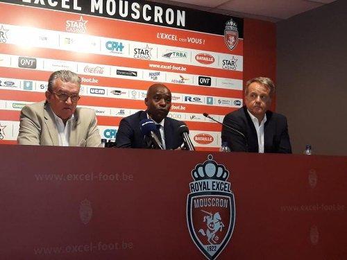Mbo Mpenza est le nouveau responsable sportif de l'Excel Mouscron