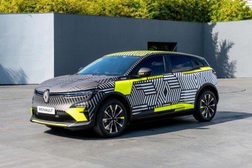 La Renault Mégane E-Tech électrique se dévoile